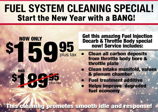 Fuel System Cleaning Service Coupon Toyota Corona