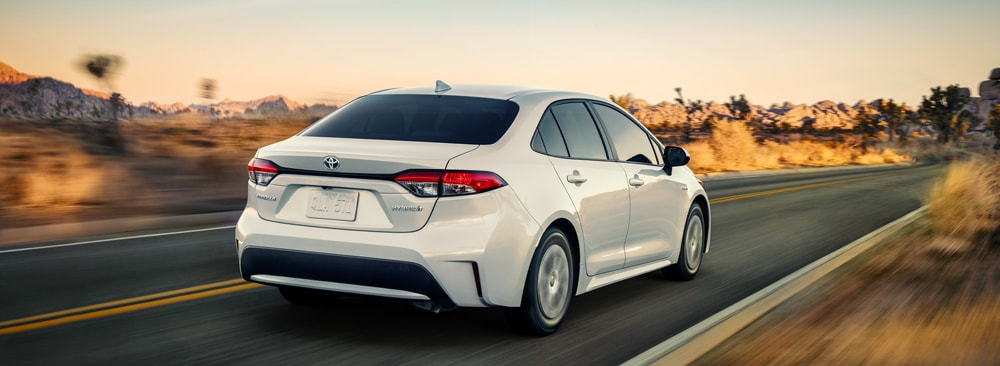 The All-New 2020 Toyota Corolla Hybrid at Larry H. Miller Toyota Corona in Corona, CA
