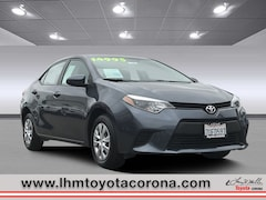 Used 2016 Toyota Corolla L Sedan for sale near you in Corona, CA