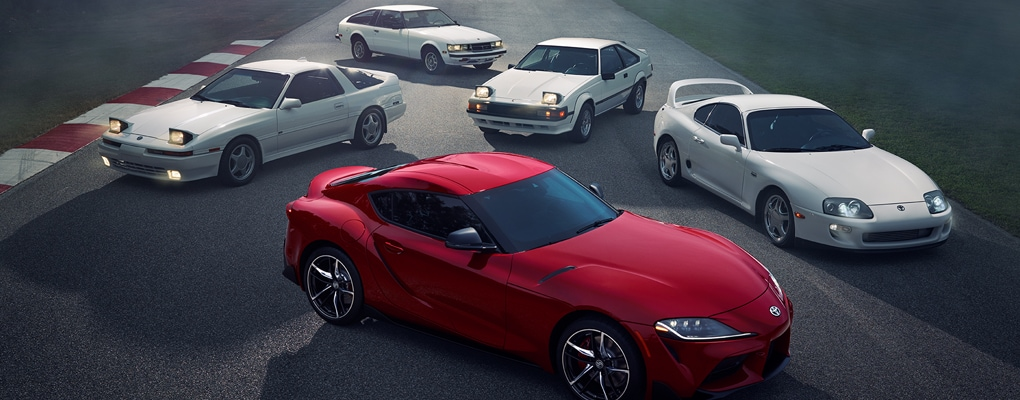 The All-New 2020 Toyota Supra Here at Larry H. Miller Toyota Corona in Corona, CA Proudly Serving Corona, Pomona, Ontario, and Montclair