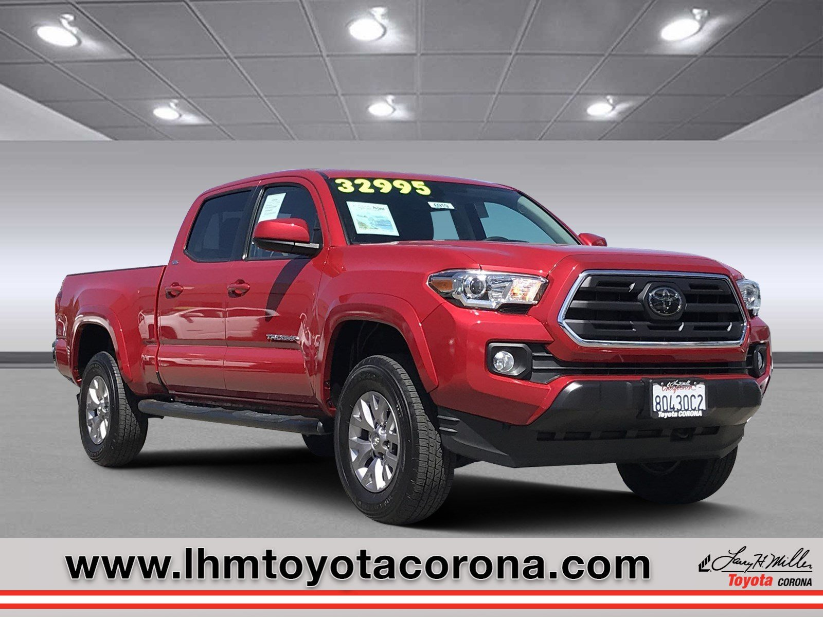 Featured Used 2018 Toyota Tacoma SR5 Truck Double Cab for sale in Corona, CA