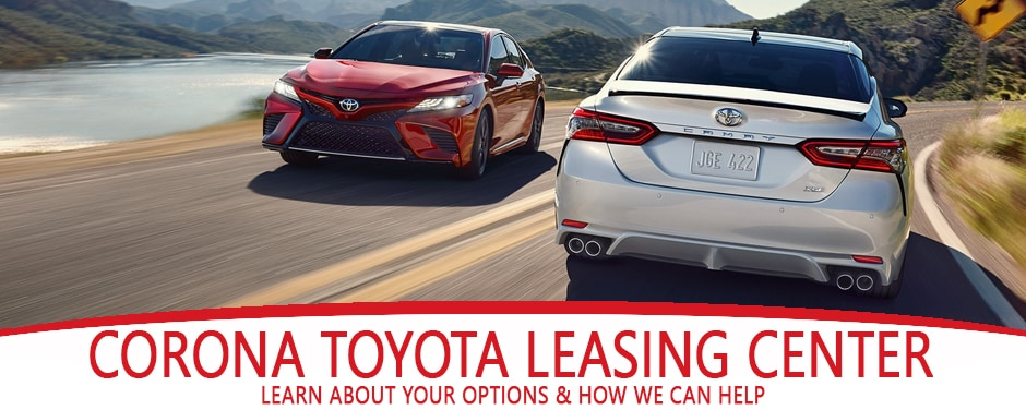 Toyota End of Lease options Larry H Miller Toyota Corona