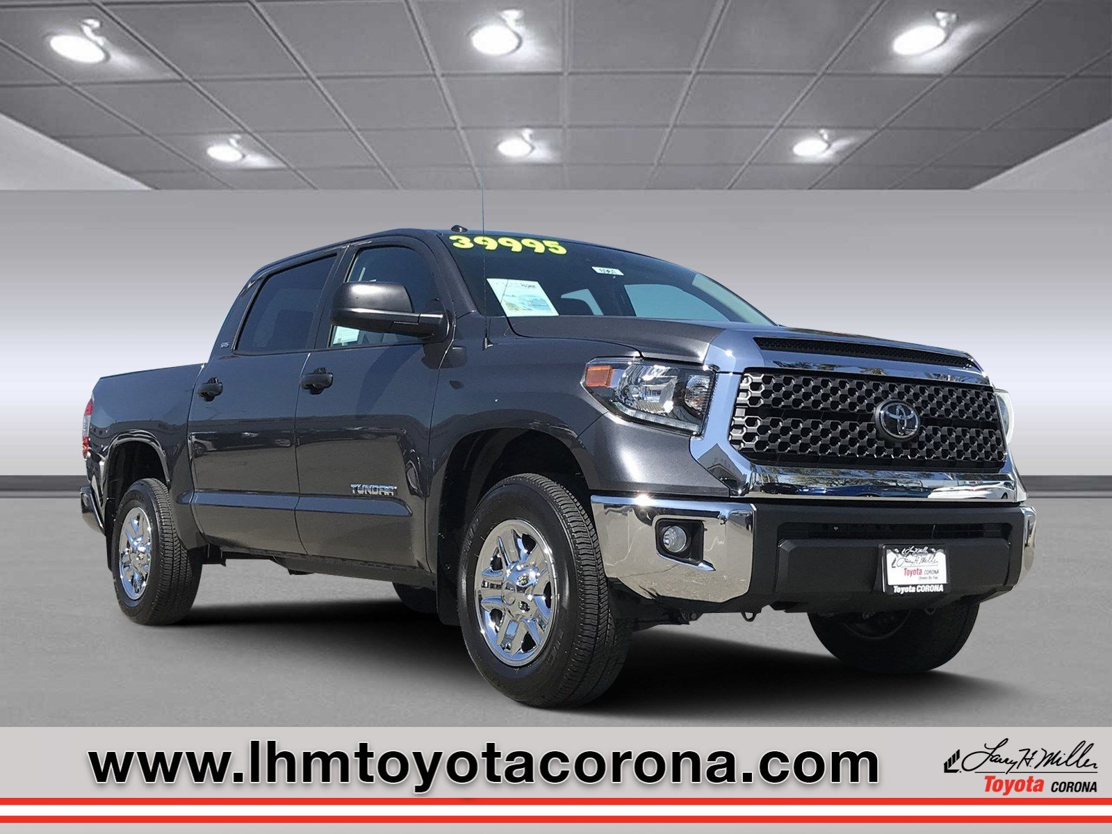 Featured Used 2019 Toyota Tundra SR5 Truck CrewMax for sale in Corona, CA
