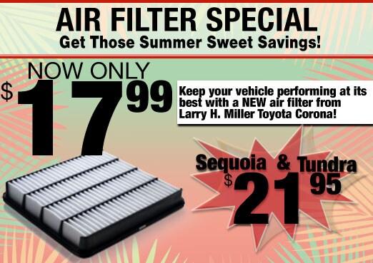 Air Filter Parts Special Coupon Toyota Corona