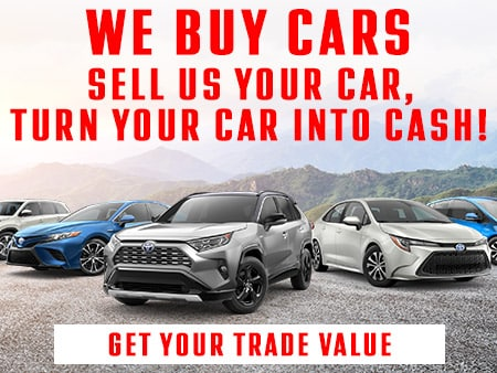 Value My Trade Larry H Miller Toyota Corona