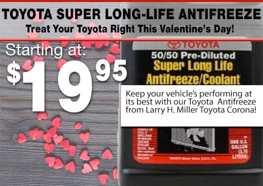 Toyota Super Long Life Antifreeze Special Coupon Toyota Corona