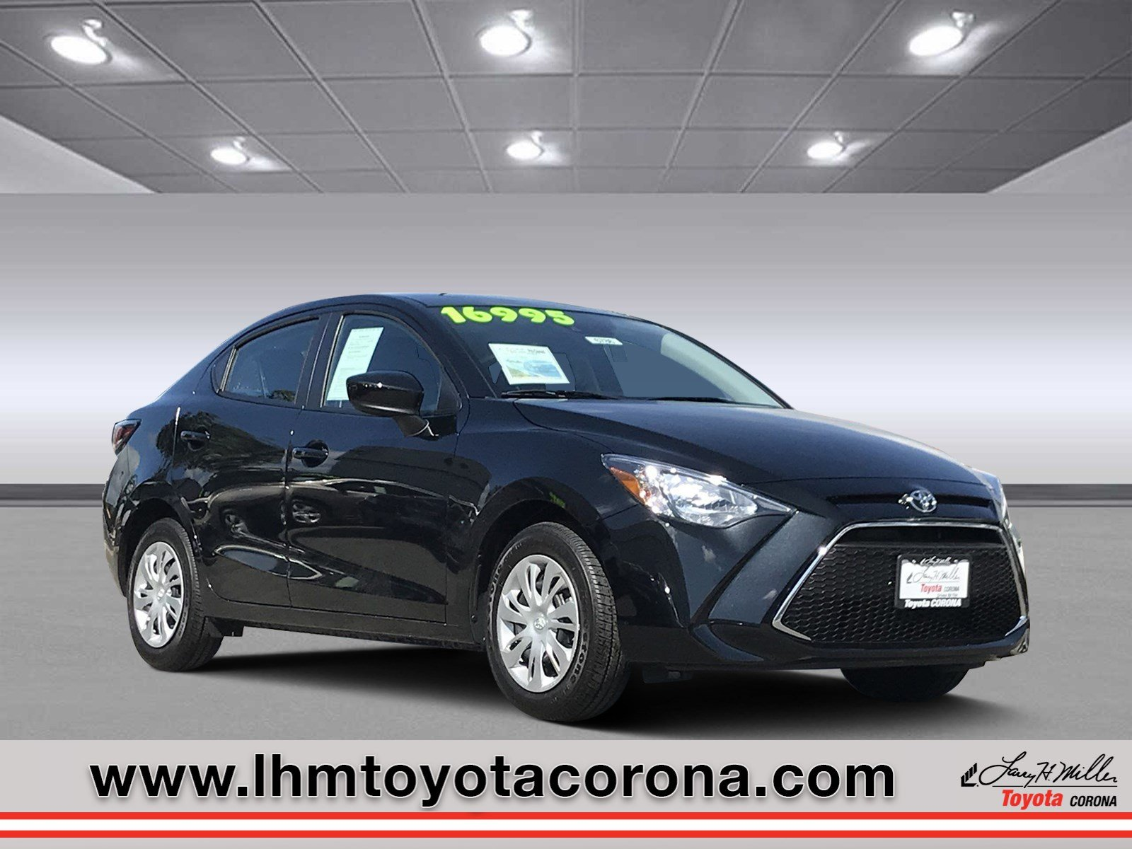 Featured Used 2019 Toyota Yaris L Sedan for sale in Corona, CA