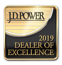 JD Power 2019 Dealer of Excellence Award