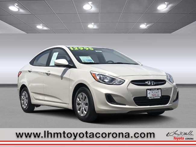 Used 2017 Hyundai Accent SE Sedan Corona