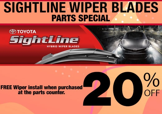 Sightline Wiper Blade Parts Special Coupon Toyota Corona