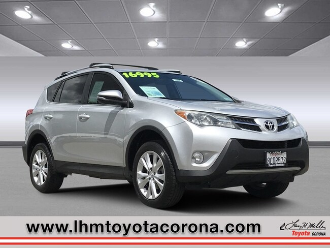 Used 2013 Toyota RAV4 Limited SUV Corona