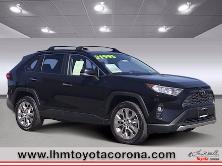 Featured Used 2019 Toyota RAV4 Limited Sport Utility for sale in Corona, CA