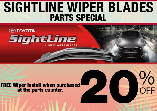 Sightline Wiper Blade Parts Special Coupon Toyota Corona