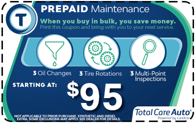 Total Care Auto Larry H Miller Toyota Corona Prepaid Maintenance