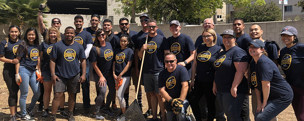 Larry H. Miller Toyota Lemon Grove Day of Service 2019