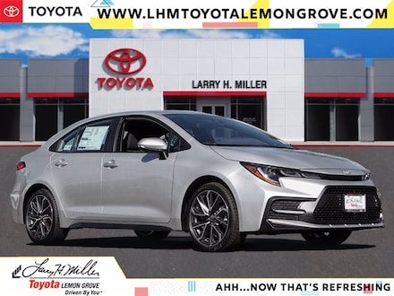 Featured New 2021 Toyota Corolla SE Sedan 5YFP4MCE1MP063203 for sale near you in Lemon Grove, CA