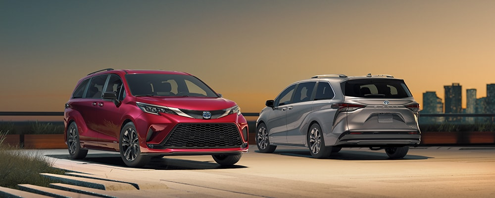 Introducing the All-New 2021 Toyota Sienna at Larry H. Miller Toyota Lemon Grove