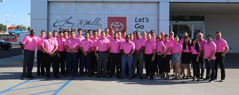 Larry H. Miller Toyota Lemon Grove Breast Cancer Awareness 2019