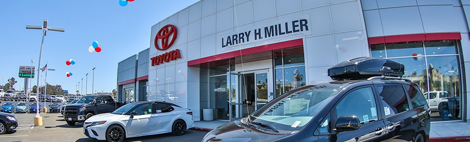Lease or Buy Larry H Miller Toyota Lemon Grove
