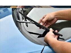 Genuine Toyota Wiper Blades Installed