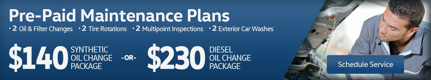 Pre-Paid Maintenance Packages at Larry H. Miller Volkswagen Avondale