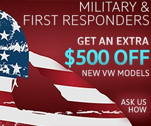 Larry Miller Avondale Volkswagen Military Discount $500 Off