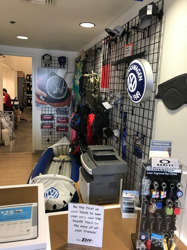Check out our VW merchandise at our retail store!