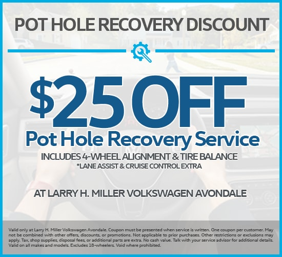 $25 Off Pot Hole Recovery Service at Larry H. Miller Volkswagen  Avondale.png