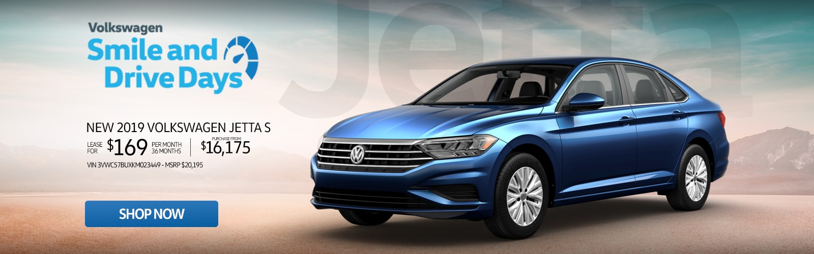 New 2019 Volkswagen Jetta S Lease For Just $169 Or Purchase From $16,175 at Larry H. Miller Volkswagen Avondale