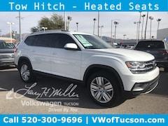 New Volkswagen Atlas 2019 Volkswagen Atlas 3.6L V6 SE w/Technology 4MOTION SUV for sale near you in Tucson, AZ