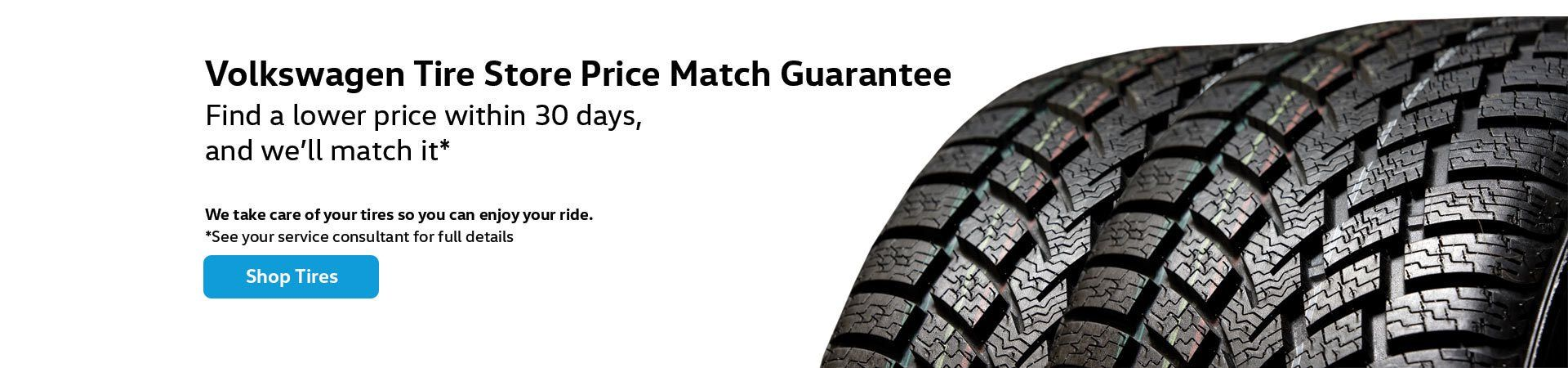 tucson volkswagen tire store price match guarantee