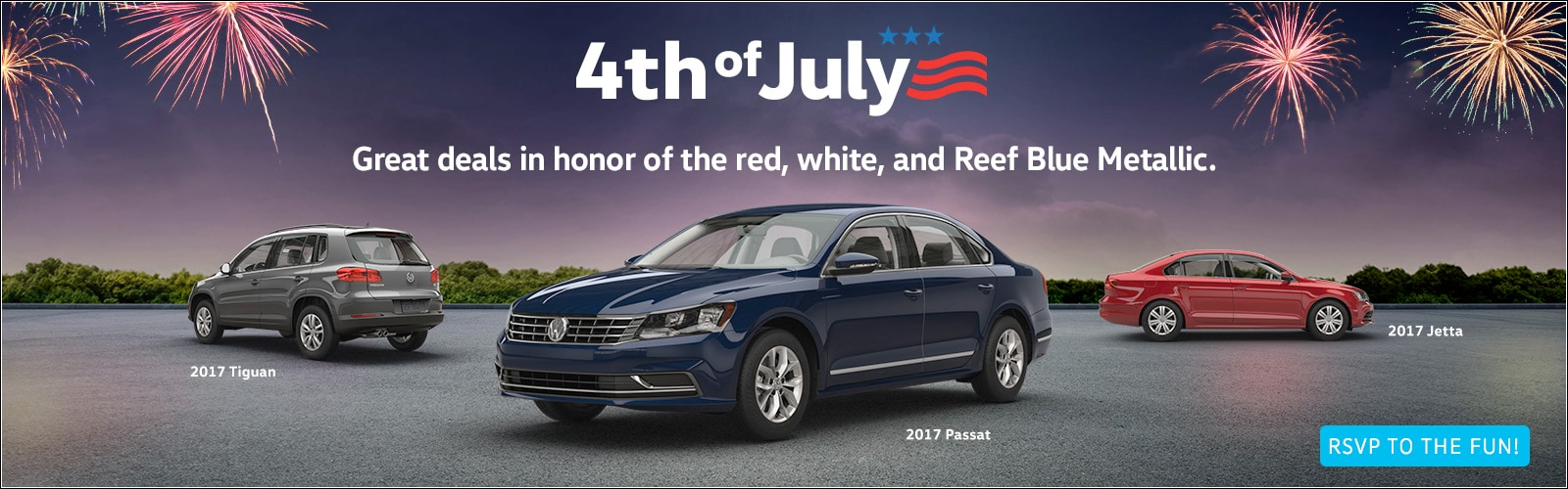 4th of July Event at VW Tucson!