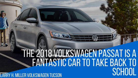 The 2018 Volkswagen Passat Is a Fantastic Car to Take Back to School