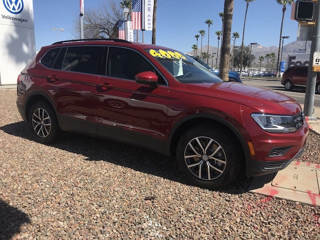 New Volkswagen 2019 Volkswagen Tiguan 2.0T SE SUV for sale in Tucson, AZ