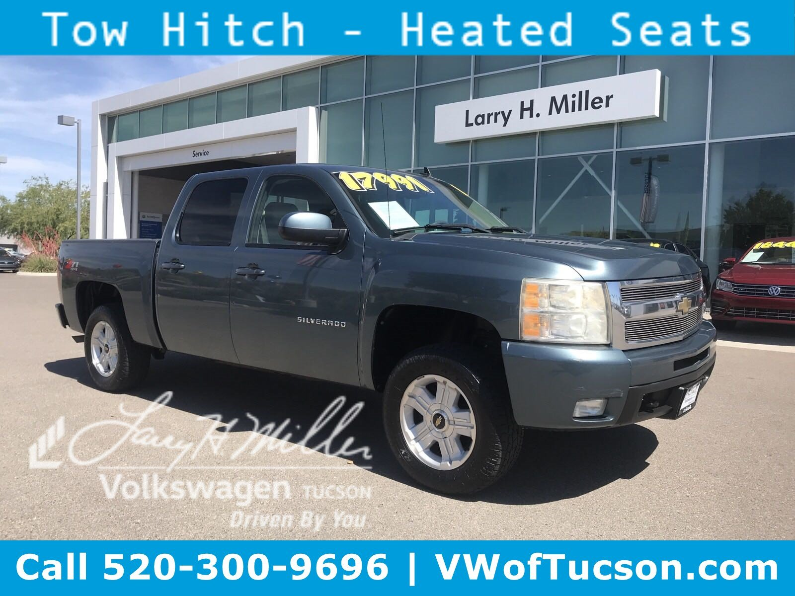 Featured used vehicles 2010 Chevrolet Silverado 1500 LTZ Truck Crew Cab for sale in Tucson, AZ