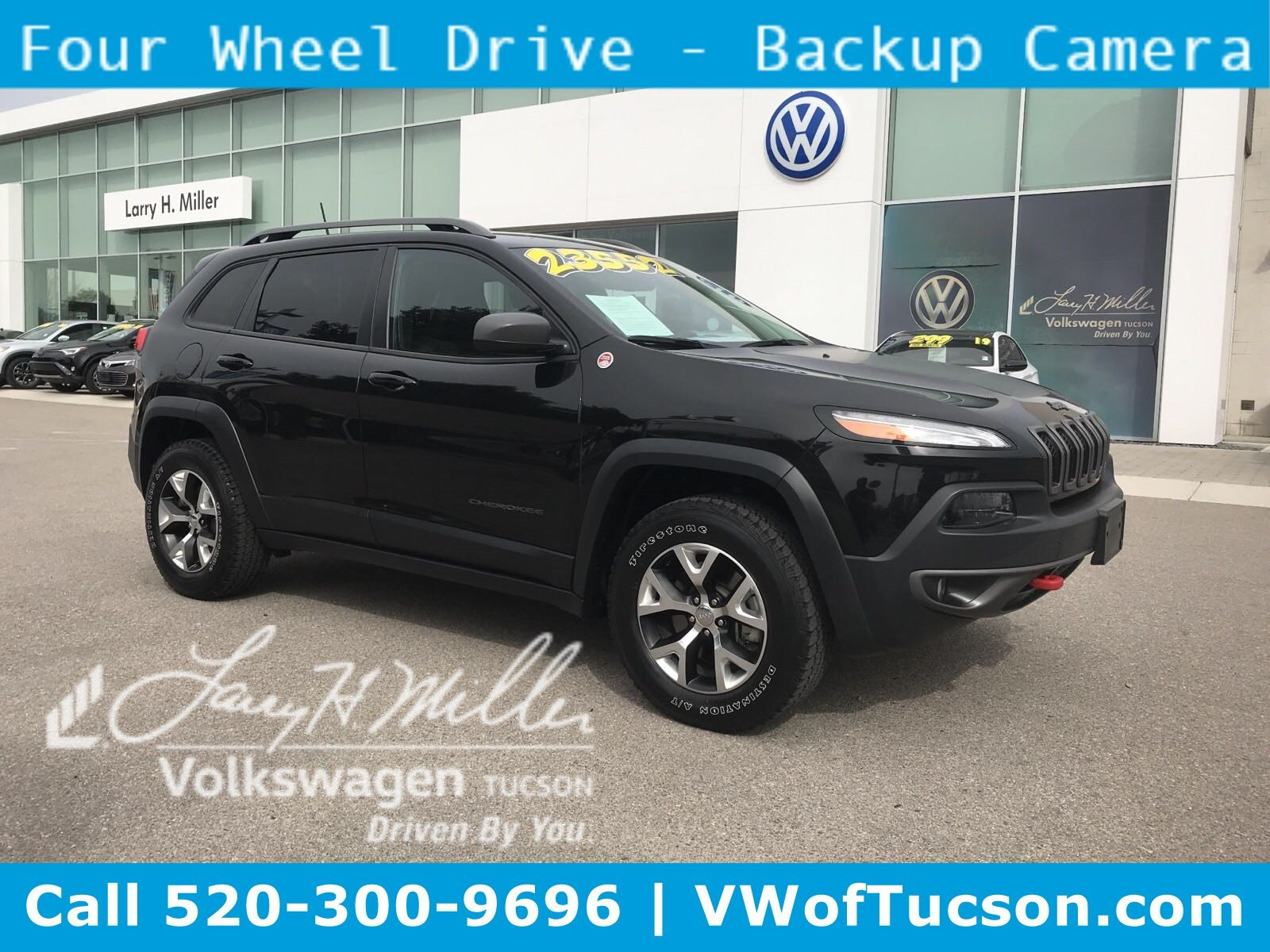 Featured used vehicles 2017 Jeep Cherokee Trailhawk SUV for sale in Tucson, AZ