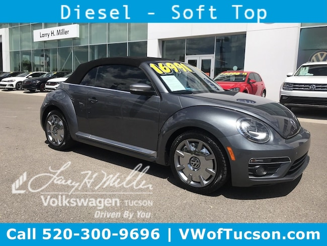 Used vehicle 2014 Volkswagen Beetle 2.0L TDI Convertible for sale in Tucson, AZ