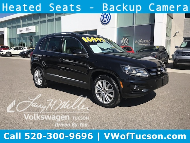 Used vehicle 2016 Volkswagen Tiguan SUV for sale in Tucson, AZ