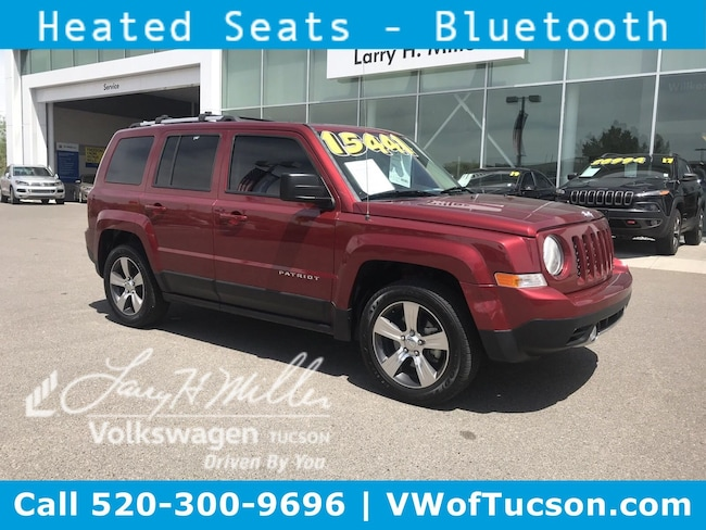 Used vehicle 2016 Jeep Patriot High Altitude Edition SUV for sale in Tucson, AZ