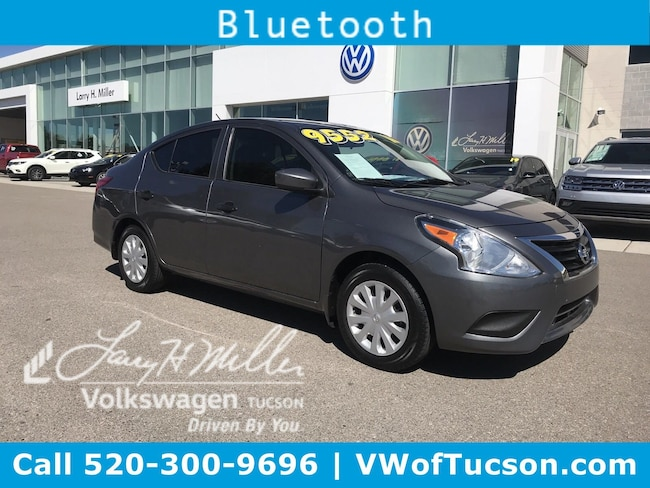 Used vehicle 2016 Nissan Versa S Sedan for sale in Tucson, AZ