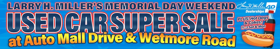 Memorial Day Used Car SuperSale!