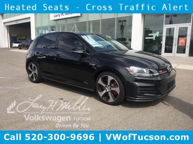 New Volkswagen 2019 Volkswagen Golf GTI 2.0T S Hatchback for sale in Tucson, AZ