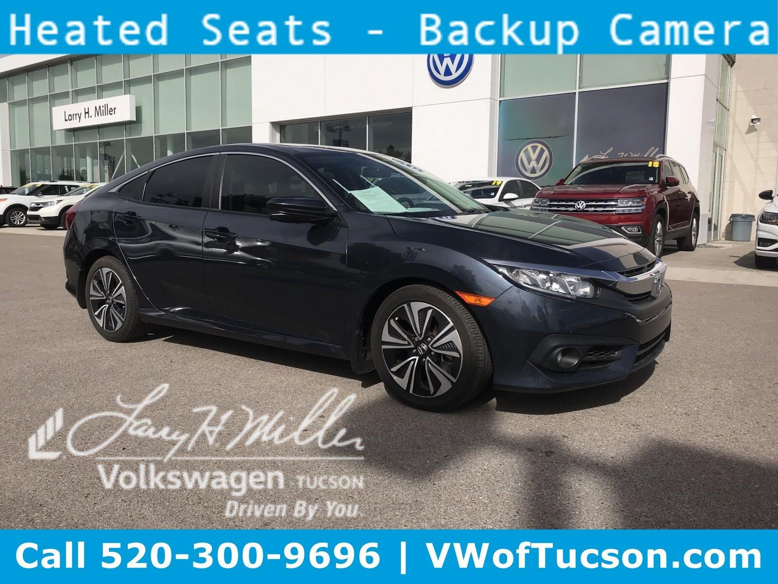 Featured used vehicles 2016 Honda Civic EX-T Sedan for sale in Tucson, AZ