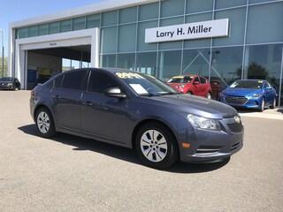 Used vehicles 2014 Chevrolet Cruze LS Sedan for sale near you in Tucson, AZ