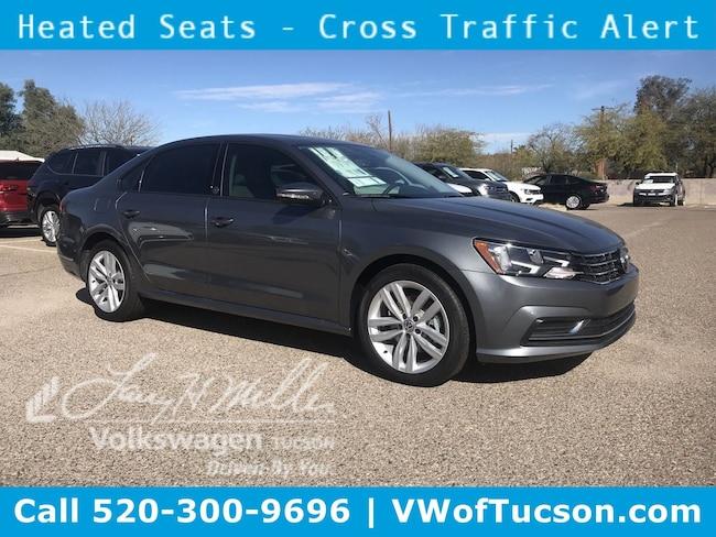 New Volkswagen 2019 Volkswagen Passat 2.0T Wolfsburg Edition Sedan for sale in Tucson, AZ