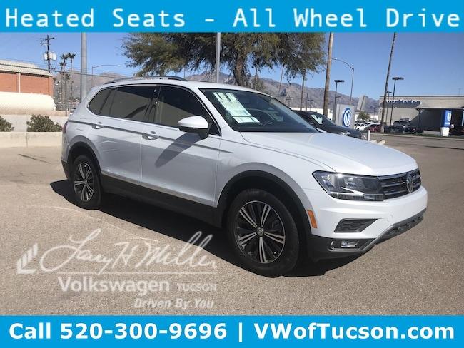 New Volkswagen 2019 Volkswagen Tiguan 2.0T SEL 4MOTION SUV for sale in Tucson, AZ