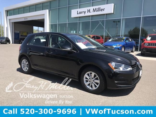 Used vehicle 2017 Volkswagen Golf Hatchback for sale in Tucson, AZ