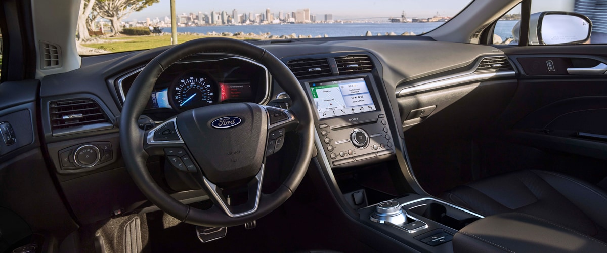 2019 Ford Fusion Interior & Technology