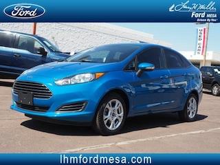 Used 2015 Ford Fiesta SE Sedan Mesa, AZ