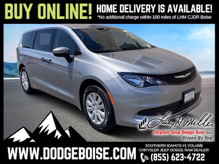 Featured New 2020 Chrysler Voyager L Passenger Van for sale near you in Boise, ID